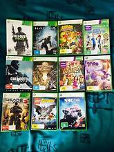 Xbox 360 + 2 controllers + Kinect Sensor & 11+ games Albany Creek Brisbane North East Preview