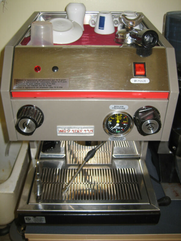 ***UPDATED*** Professional Italian Coffee Machine Astoria CMA, Holders, Softener