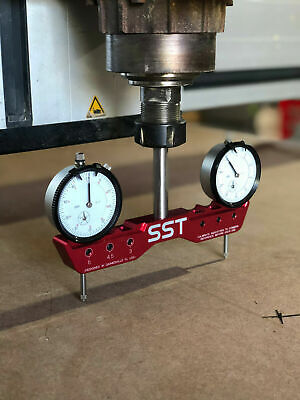 Adjustable Mill Tramming Tool -- Square Tram Spindle Lathe Cnc Router System