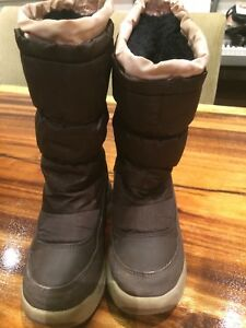 Pink & Brown Cougar Winter Boots Size 13