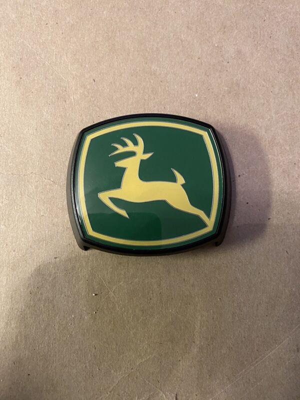 John Deere Plastic Emblem