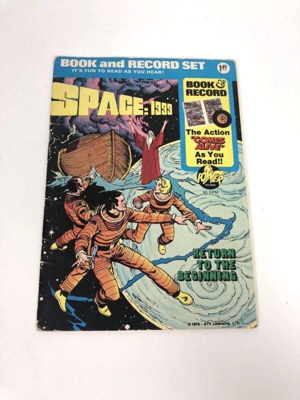 "Vintage 1976 ""Space 1999"" Comic Book & Record Set"