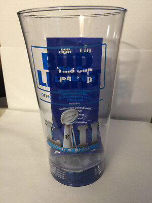 Super Bowl LII 52 Bud Light Light-Up Cup (Super Bowl Cup)