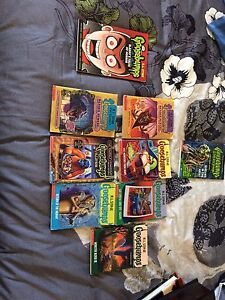 9 GOOSEBUMPS books including an extremely RARE book