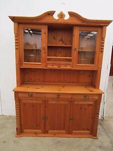 D4004 Lovely Baltic Pine Kitchen Dresser Cabinet Unley Unley Area Preview