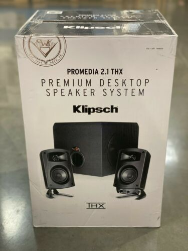 Klipsch ProMedia 2.1 THX Computer Speakers Brand New in Box
