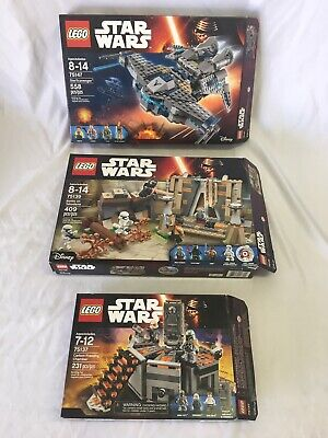 Lego Star Wars Boxes Only- 75147, 75137, 75139