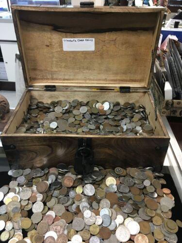Bulk 1 lb foreign coins random mixed lot
