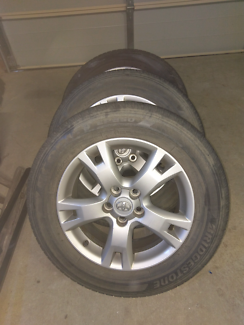 Rav4 wheels, mags, alloys, tyres Charlestown Lake Macquarie Area Preview