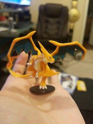 TOMY Pokemon Mega Charizard Y Figure WITH STAND RARE Collection Box Figure tcg