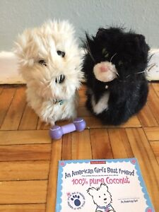 American Girl- Coconut the dog and Licorice the Cat