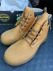 Oliver nubuck lace up ankle safety boot