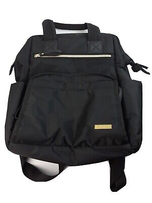 Skip Hop Diaper Bag Backpack, Mainframe Large Capacity Wide Open Structure, Blac