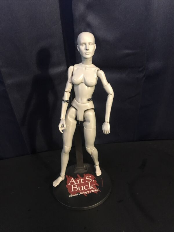 Art S. Buck Female Artists Model Anatomical Mannequin Superhero Cartoon Lifelike