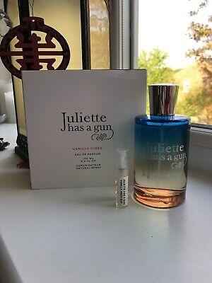 Juliette has a Gun VANILLA VIBES Eau De Parfum 2ml Sample Decant