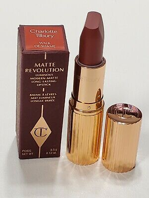 Charlotte Tilbury Matte Revolution Lipstick Walk Of Shame Full Size $34