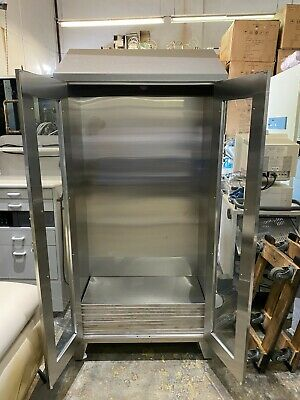 Stainless Steel Medical Cabinet W 5 Shelves