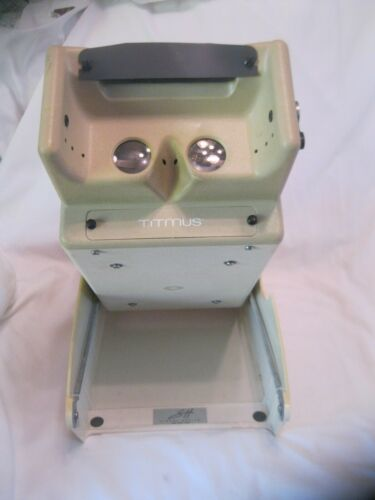 1996 Titmus Model 2S Vision Screener Bundle With Power Cord & Suitcase