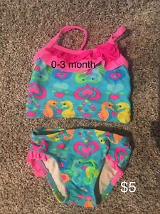 0-3 month bathing suit