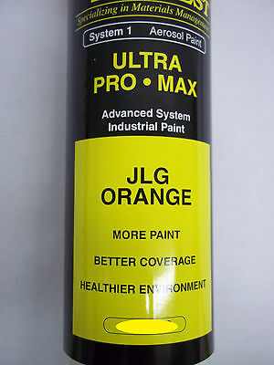Jlg Orange System 1 Aerosol Paint Lot Of 12