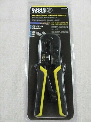 Klein Tools Ratcheting Modular Crimper Stripper Vdv226-011-sen - Brand New