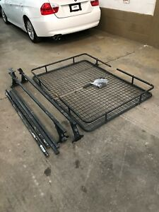 Land rover defender 110 90 roof rack assembly Thule brand.