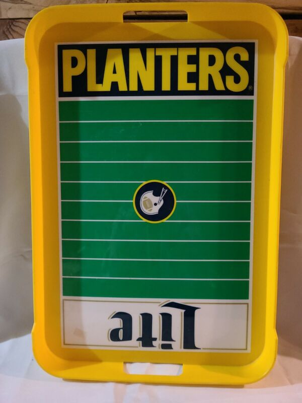 1960s VINTAGE GREEN BAY PACKERS SNACK TRAY PLANTERS/LITE