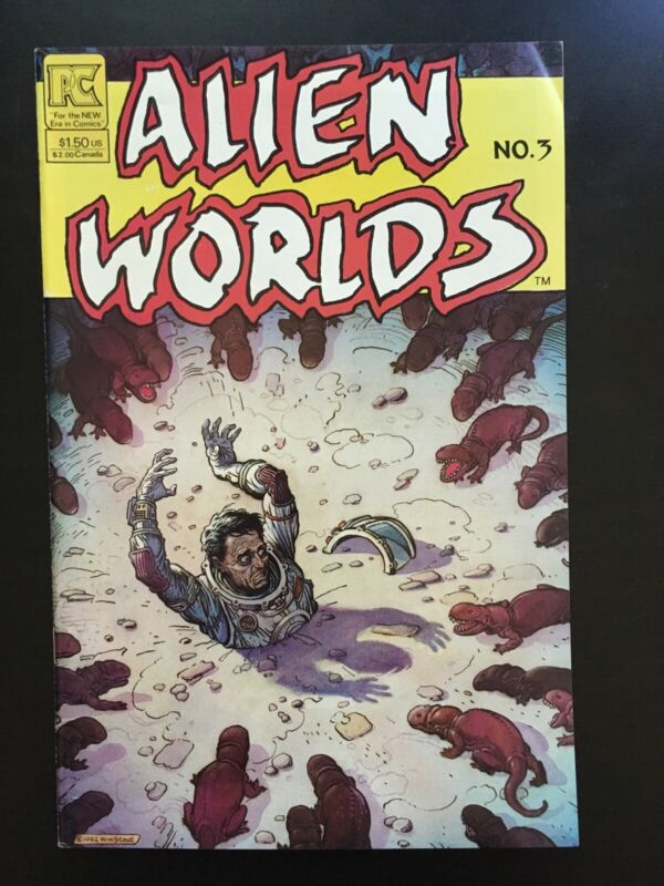 ALIEN WORLDS #3 (Pacific 1984) • Combined Shipping!
