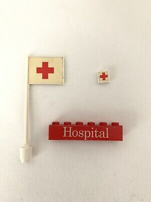 Lego Vintage Hospital 555 STICKER PARTS LOT GENUINE ✨ NICE ✨