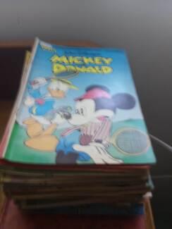 60 valiant disney comics late 80s early 90s