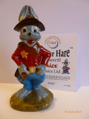 WADE-ARTHUR HARE THE SHERERIFF LE 1000 for sale  Shipping to Ireland