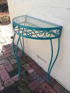Hall Stand Table - Wrought Iron - Art Deco Fremantle Fremantle Area Preview