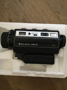 Bell and Howell 2103 XL 1977 movie camera