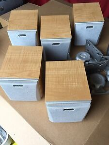 AAD American Acoustic Dynamics book shelf speakers Grange Charles Sturt Area Preview