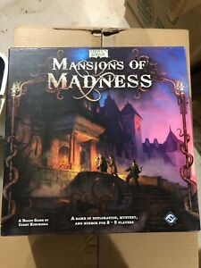 Mansions of Madness Board Game of exploration mystery and horror
