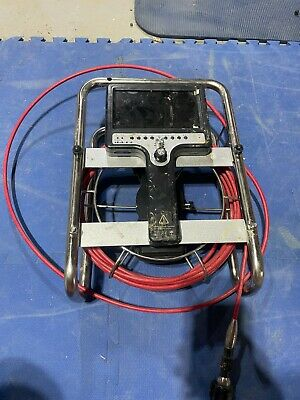 Roto-vision Video Inspection System Frayed Cable To Camera Needs Replacing.