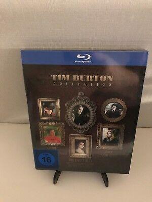 Tim Burton Kinder ([Blu-Ray] Tim Burton Collection - Sweeney Todd Dark Shadows Charlie /NEU/)
