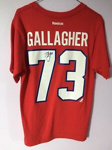 Signed habs t shirt