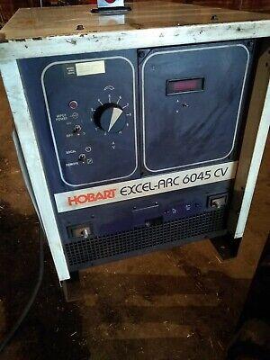 Hobart 600a Dc Arc Welder 3ph Excel-arc 6045 Cv Mig Stick Welding Power Source