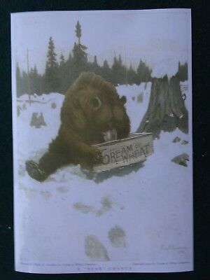 Philip R. Goodwin, A Bear Chance, Cream Of Wheat 1907 Advertising Poster