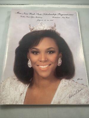 Miss America New York scholarship Beauty Pageant Program 1990