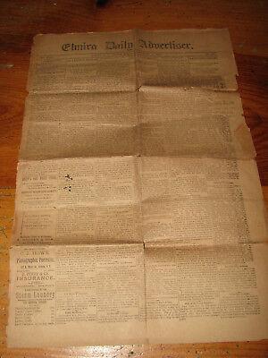 (Elmira N. Y. Daily Advertiser Newspaper December 14, 1888)