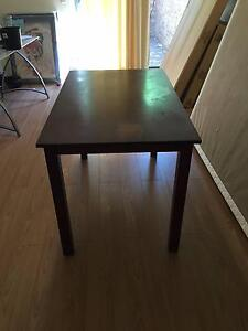 Brown Dining Table - FREE (Pick up Only) Como South Perth Area Preview