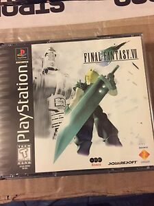 PS1 Final Fantasy 7 (no manual)