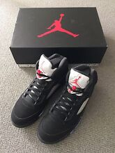 Nike Air Jordan 5 Black/Metallic Silver US8.5 Chatswood Willoughby Area Preview