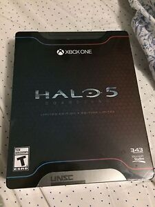 UNOPENED Halo 5: Guardians, Limited edition, Xbox one Kitchener / Waterloo Kitchener Area image 1