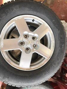 Chev rim and tires.  All 4 $125 OBO