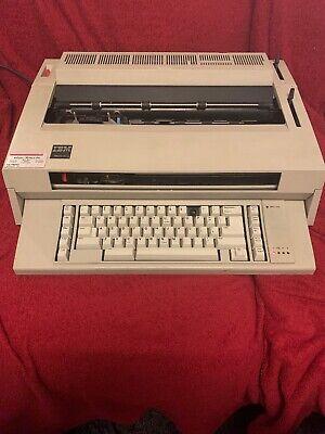 Ibm Wheelwriter 3 Typewriter With Ribbon. Tested Working