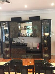 Wall unit and display unit Naremburn Willoughby Area Preview
