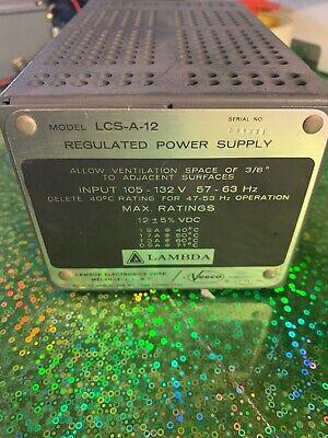 Lcs-a-12 Lambda Power Supply